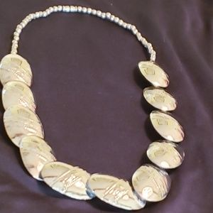 Sterling silver ss VINTAGE SILVER NECKLACE